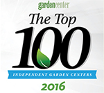 Named one of the Top 100 garden centers by Garden Center Magazine