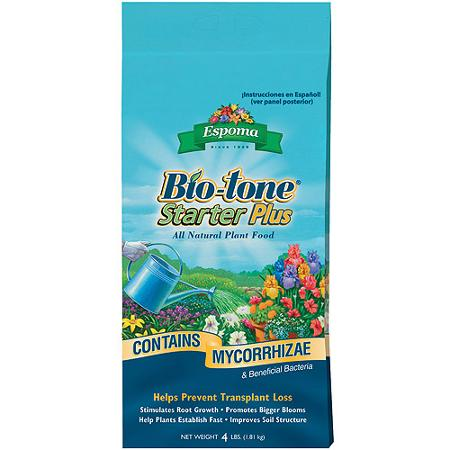 Add Bio-tone Starter Plus 4-3-3 to maximize root growth.