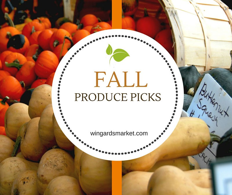 Top Fall Produce Picks