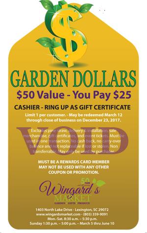 Garden Dollars