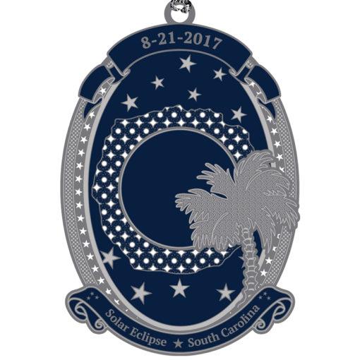 SC Solar Eclipse Ornament