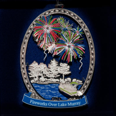 Lake Murray Ornament - Fireworks over Lake Murray