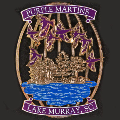 Lake Murray Ornament - Purple Martins