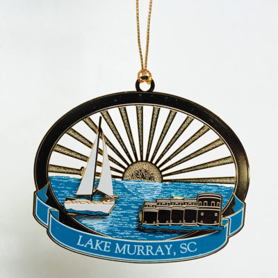 Lake Murray Ornament - The Towers