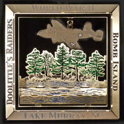 Lake Murray Ornament - World War II Bomb Island