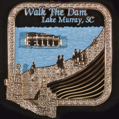 Lake Murray Ornament - Walk the Dam