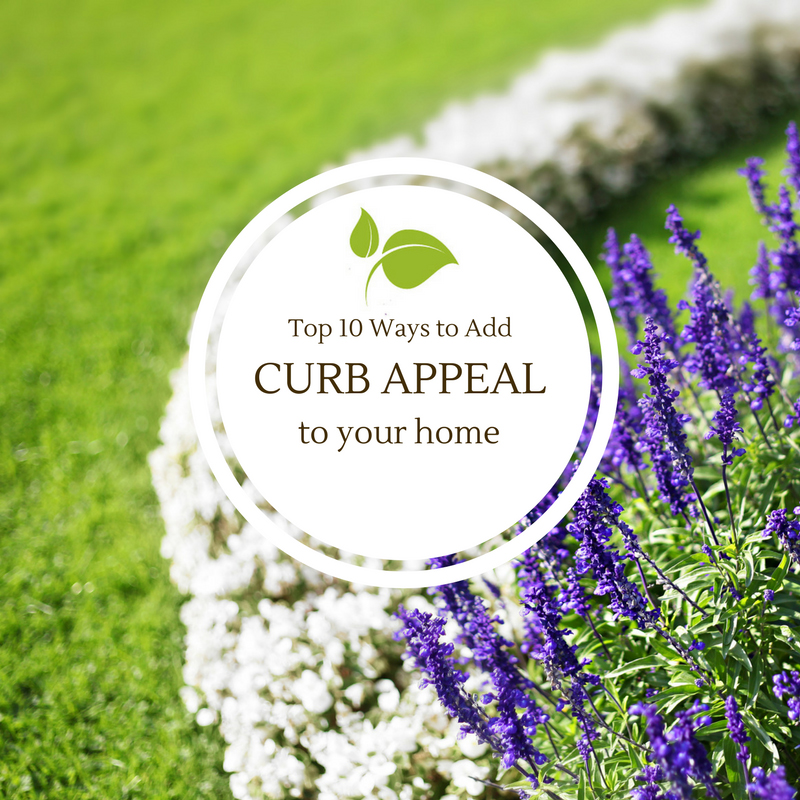Top 10 Ways to Add Curb Appeal to your Home